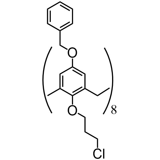 Benzyloxycalix[8]arene-chloropropyl (flexible)