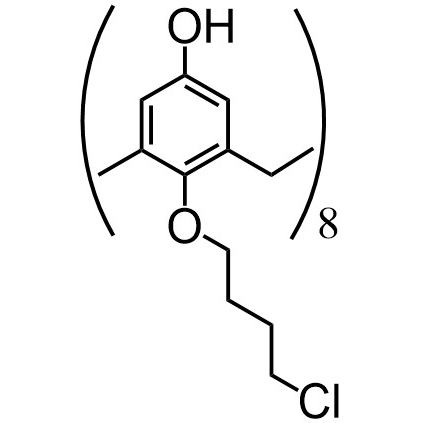 Calix[8]arene-chlorobutyl (flexible)