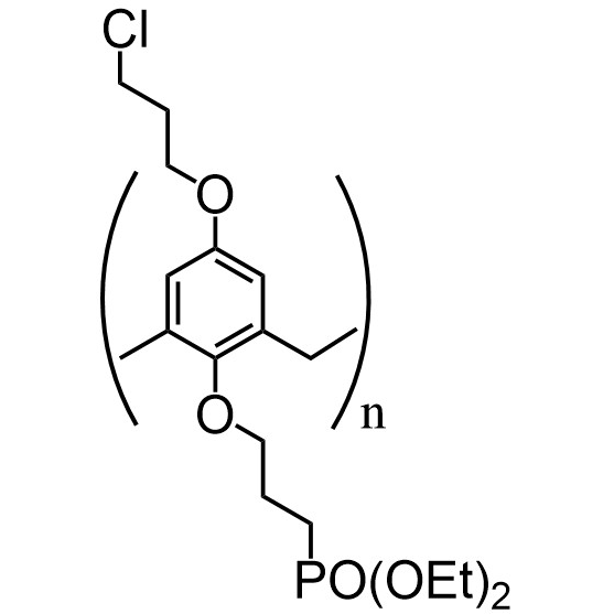 Chloropropylcalix[8]-C3-phosphonate