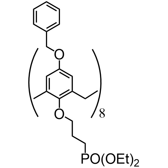 Benzyloxycalix[8]arene-C3-phophonate (flexible)