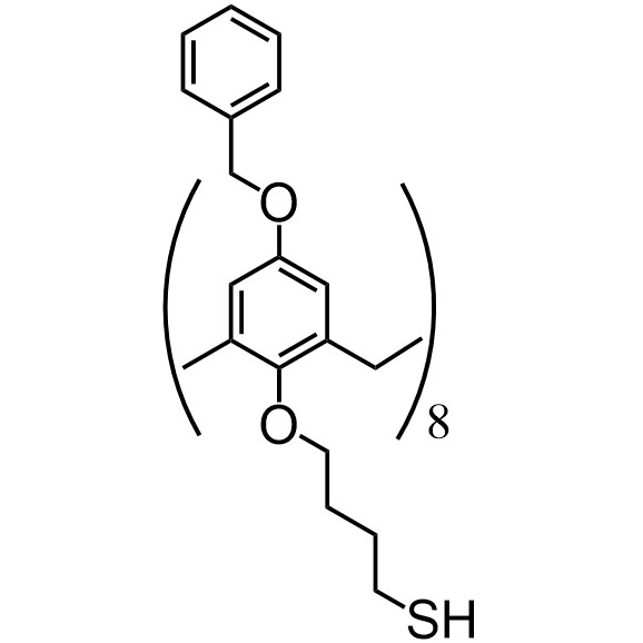 Benzyloxycalix[8]arene-C4-thiol (flexible)
